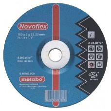 Круг обдирочный по стали Novoflex SP (150x6х22.2 мм) Metabo 617137