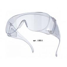 Очки защитные открытые РОСОМЗ О35 ВИЗИОН PL 13511 прозрачные