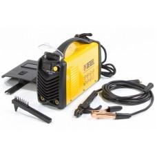 Инверторный аппарат для дуговой сварки ММА-200ID, 200 А, ПВР 60%, диам.эл.1,6-5 мм, провод 2м// Denzel (94347)