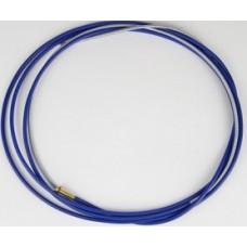 Канал направляющий (д.0.8-1.0мм), сталь, 3,0 м., синий