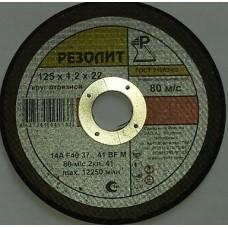 Круг отрезной по металлу 230 х 2,5 х 22,5 (Резолит)