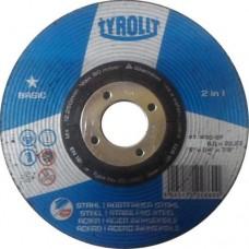 Диск зачистной абразивный Tyrolit Basic Fast Cut, 230 мм х 6 мм х 22,23 мм. 222865